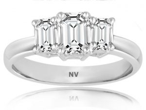 Diamond Stone Ring for womens