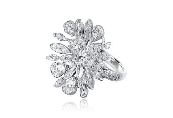 white gold ladiesring ring
