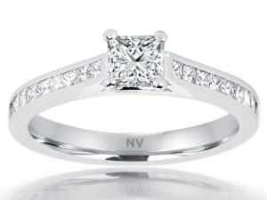 White Gold Diamon ring for womens in Melbourne