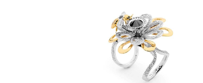 Custom Diamond Ring Home