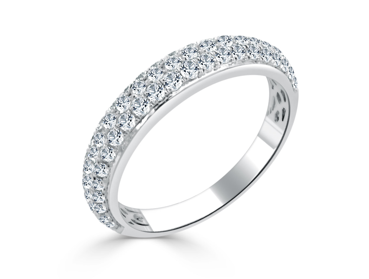 It is just a picture of White Gold Wedding Ring R47